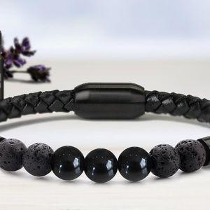 Jewelry - Lava Stone Chakra Bracelet